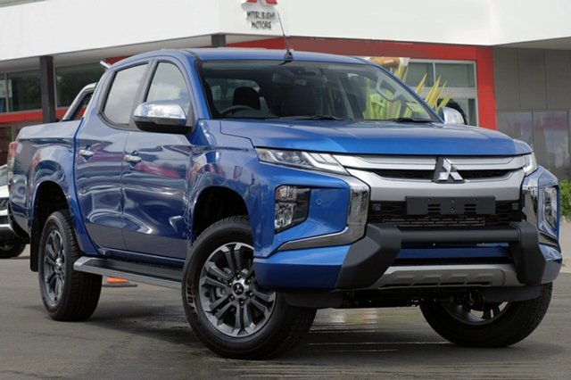 New Mitsubishi Triton MR MY19 GLS Double Cab Premium, 2018 Mitsubishi Triton MR MY19 GLS Double Cab Premium Impulse Blue 6 Speed Sports Automatic Utility