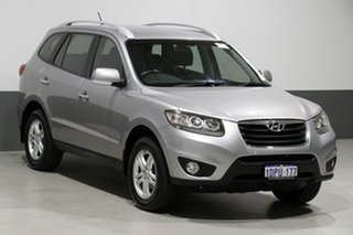 2011 Hyundai Santa Fe CM MY12 Elite CRDi (4x4) Grey 6 Speed Automatic Wagon