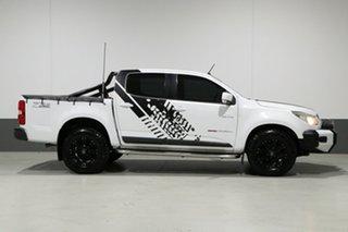 2013 Holden Colorado RG MY14 LX (4x4) White 6 Speed Manual Crew Cab Pickup