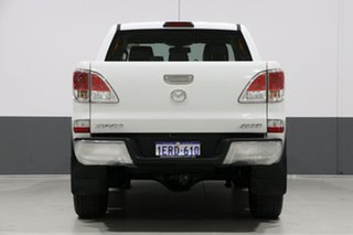 2014 Mazda BT-50 MY13 GT (4x4) White 6 Speed Manual Dual Cab Utility