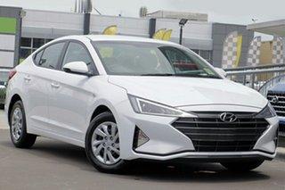 2018 Hyundai Elantra AD.2 MY19 Go Polar White 6 Speed Manual Sedan.