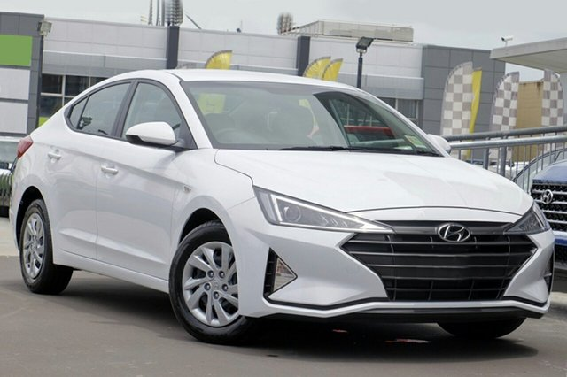 New Hyundai Elantra AD.2 MY19 Go, 2018 Hyundai Elantra AD.2 MY19 Go Polar White 6 Speed Sports Automatic Sedan