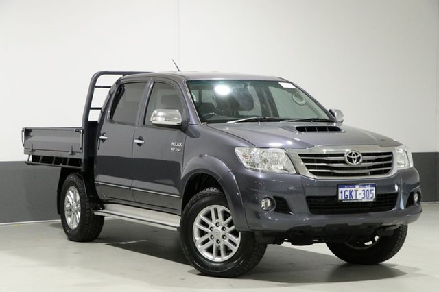 Used Toyota Hilux KUN26R MY14 SR5 (4x4), 2014 Toyota Hilux KUN26R MY14 SR5 (4x4) Grey 5 Speed Automatic Dual Cab Pick-up