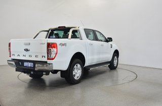 2018 Ford Ranger PX MkII 2018.00MY XLT Double Cab Frozen White 6 Speed Manual Utility