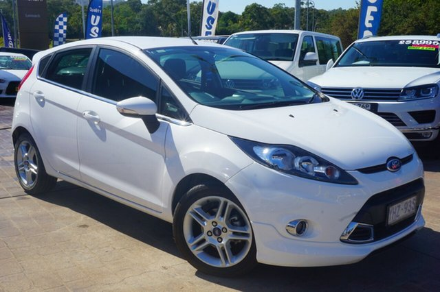 Used Ford Fiesta WT Zetec PwrShift, 2012 Ford Fiesta WT Zetec PwrShift White 6 Speed Sports Automatic Dual Clutch Hatchback