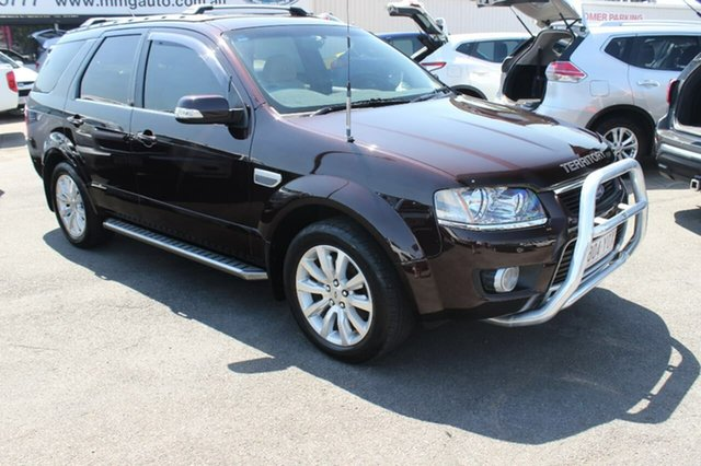 Used Ford Territory SY MkII Ghia RWD, 2010 Ford Territory SY MkII Ghia RWD Brown 4 Speed Sports Automatic Wagon