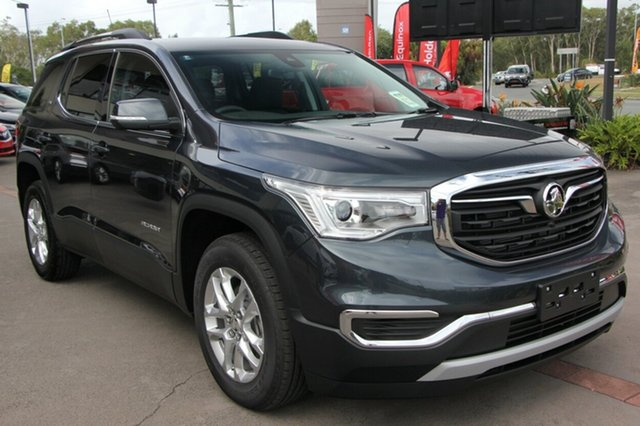 Demo Holden Acadia AC MY19 LT 2WD, 2018 Holden Acadia AC MY19 LT 2WD Dark Shadow 9 Speed Sports Automatic Wagon