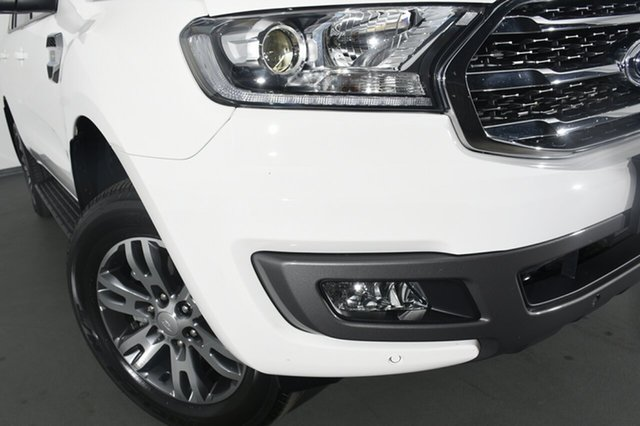 Used Ford Everest UA II 2019.00MY Trend 4WD, 2018 Ford Everest UA II 2019.00MY Trend 4WD White 10 Speed Sports Automatic SUV