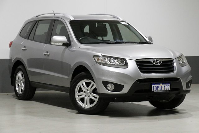 Used Hyundai Santa Fe CM MY12 Elite CRDi (4x4), 2011 Hyundai Santa Fe CM MY12 Elite CRDi (4x4) Grey 6 Speed Automatic Wagon