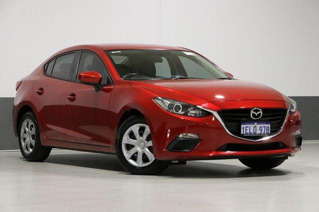 Used Mazda 3 BM Neo, 2014 Mazda 3 BM Neo Red 6 Speed Automatic Sedan
