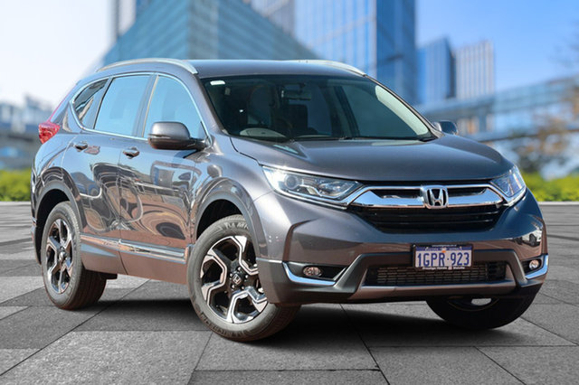 Used Honda CR-V RW MY18 VTi-S 4WD, 2018 Honda CR-V RW MY18 VTi-S 4WD Modern Steel 1 Speed Constant Variable Wagon