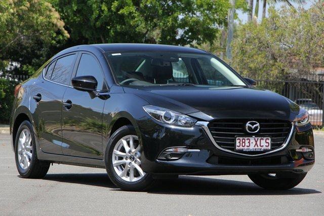 Used Mazda 3 BN5278 Touring SKYACTIV-Drive, 2017 Mazda 3 BN5278 Touring SKYACTIV-Drive Black 6 Speed Sports Automatic Sedan