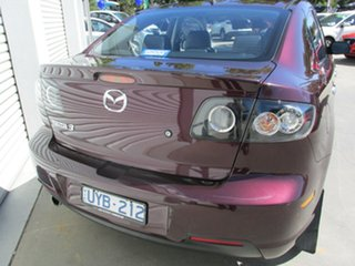 2007 Mazda 3 BK1032 SP23 Purple 5 Speed Sports Automatic Sedan