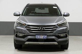 2016 Hyundai Santa Fe DM Series II (DM3) Highlander CRDi (4x4) Silver 6 Speed Automatic Wagon.