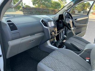 2015 Holden Colorado RG LSX White 6 Speed Manual Dual Cab