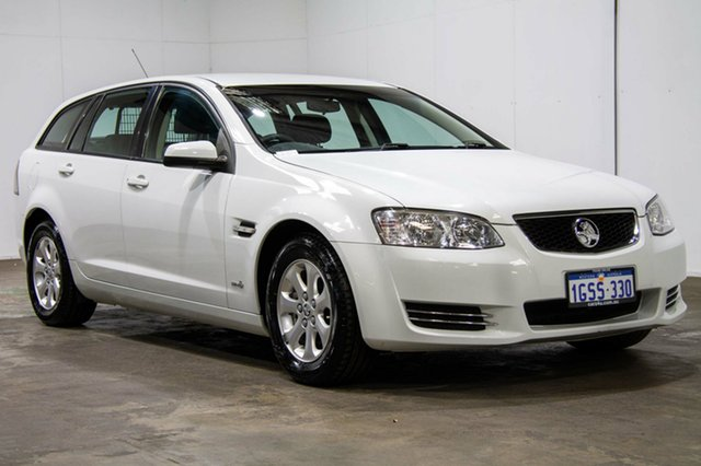 Used Holden Commodore VE II MY12 Omega Sportwagon, 2012 Holden Commodore VE II MY12 Omega Sportwagon White 6 Speed Sports Automatic Wagon