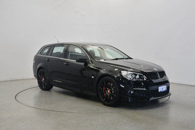 Used Holden Special Vehicles Clubsport Gen-F MY14 R8 Tourer, 2013 Holden Special Vehicles Clubsport GEN-F MY14 R8 Tourer Black 6 Speed Sports Automatic Wagon