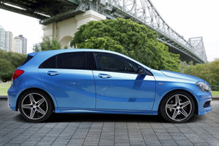 2014 Mercedes-Benz A250 W176 Sport D-CT Blue 7 Speed Sports Automatic Dual Clutch Hatchback