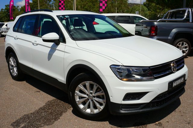 Used Volkswagen Tiguan 5N MY18 110TSI DSG 2WD Trendline, 2018 Volkswagen Tiguan 5N MY18 110TSI DSG 2WD Trendline White 6 Speed Sports Automatic Dual Clutch
