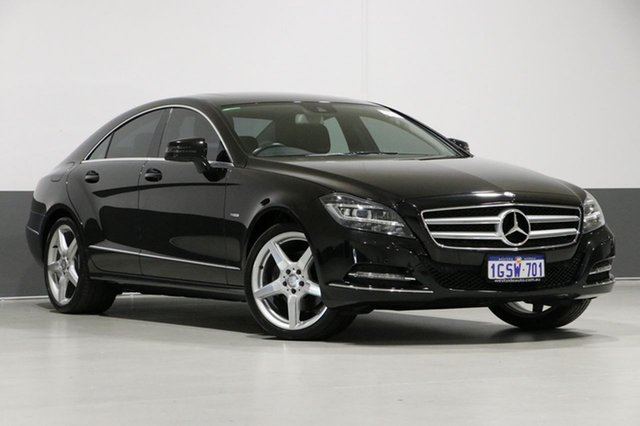 Used Mercedes-Benz CLS350 218 BlueEFFICIENCY, 2012 Mercedes-Benz CLS350 218 BlueEFFICIENCY Obsidian Black 7 Speed Automatic G-Tronic Coupe