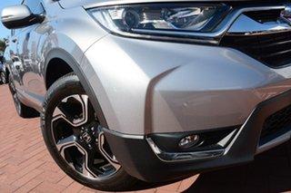 2018 Honda CR-V RW MY18 VTi-S 4WD Lunar Silver 1 Speed Constant Variable Wagon.