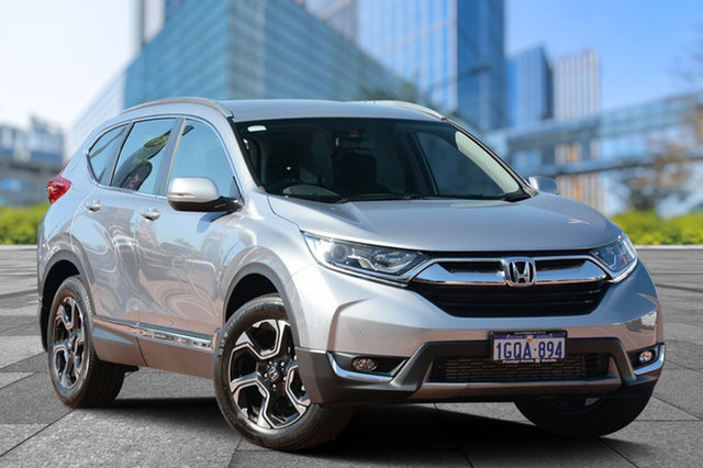 Used Honda CR-V RW MY18 VTi-S 4WD, 2018 Honda CR-V RW MY18 VTi-S 4WD Lunar Silver 1 Speed Constant Variable Wagon
