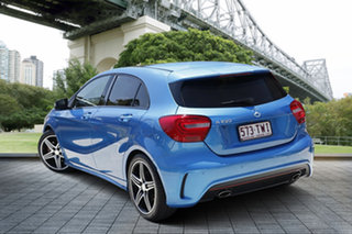 2014 Mercedes-Benz A250 W176 Sport D-CT Blue 7 Speed Sports Automatic Dual Clutch Hatchback.