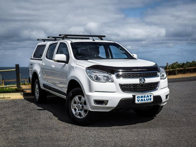 Used Holden Colorado RG , 2016 Holden Colorado RG LS-X White 6 Speed Manual Utility
