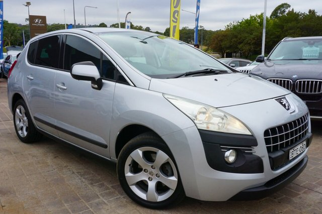 Used Peugeot 3008 T8 XSE SUV, 2010 Peugeot 3008 T8 XSE SUV Grey 6 Speed Sports Automatic Hatchback