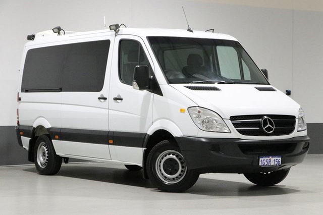 Used Mercedes-Benz Sprinter 906 MY08 Upgrade 315 CDI MWB, 2008 Mercedes-Benz Sprinter 906 MY08 Upgrade 315 CDI MWB White 5 Speed Automatic Van