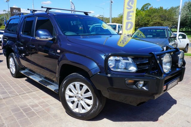 Used Volkswagen Amarok 2H MY12 TDI400 4Mot Highline, 2012 Volkswagen Amarok 2H MY12 TDI400 4Mot Highline Blue 6 Speed Manual Utility
