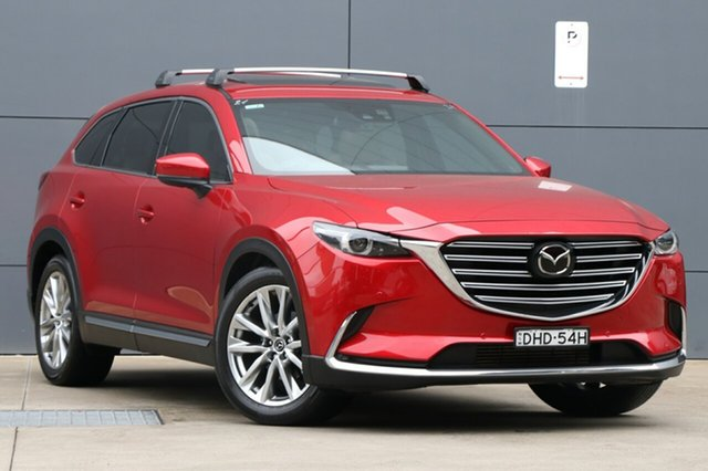 Used Mazda CX-9 TC Azami SKYACTIV-Drive i-ACTIV AWD, 2016 Mazda CX-9 TC Azami SKYACTIV-Drive i-ACTIV AWD Soul Red 6 Speed Sports Automatic Wagon