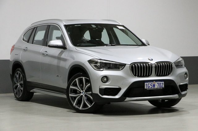 Used BMW X1 F48 MY18 xDrive 25i M Sport, 2017 BMW X1 F48 MY18 xDrive 25i M Sport Silver 8 Speed Automatic Wagon