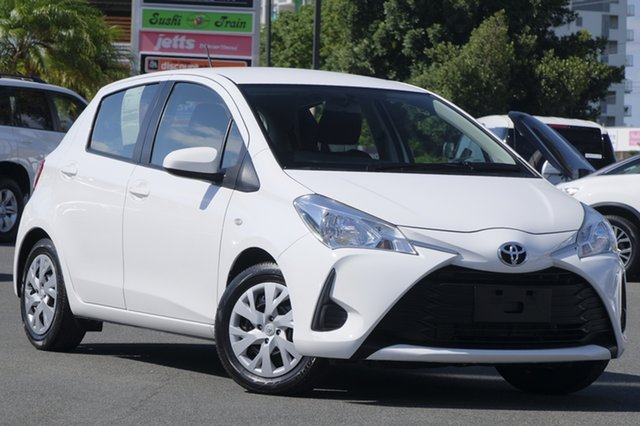 Used Toyota Yaris NCP130R Ascent, 2017 Toyota Yaris NCP130R Ascent Glacier 4 Speed Automatic Hatchback