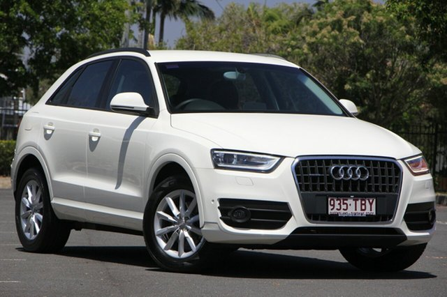 Used Audi Q3 8U MY13 TFSI S tronic quattro, 2013 Audi Q3 8U MY13 TFSI S tronic quattro White 7 Speed Sports Automatic Dual Clutch Wagon