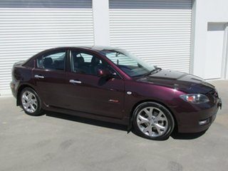 2007 Mazda 3 BK1032 SP23 Purple 5 Speed Sports Automatic Sedan.