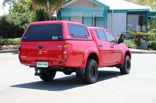 2011 Mitsubishi Triton MN MY11 GLX Double Cab Red 4 Speed Automatic Utility