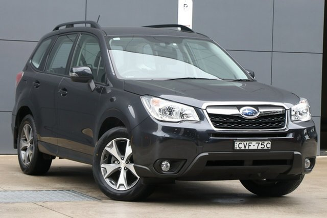 Used Subaru Forester S4 MY14 2.5i Lineartronic AWD Luxury, 2014 Subaru Forester S4 MY14 2.5i Lineartronic AWD Luxury Grey 6 Speed Constant Variable Wagon