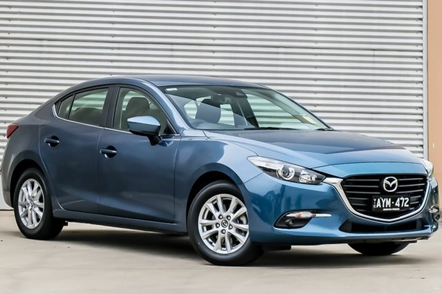 Demo Mazda 3 BN5278 Maxx SKYACTIV-Drive Sport, 2018 Mazda 3 BN5278 Maxx SKYACTIV-Drive Sport Eternal Blue 6 Speed Sports Automatic Sedan
