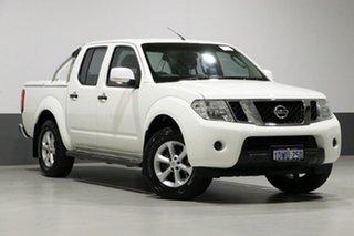2012 Nissan Navara D40 MY12 ST (4x4) White 5 Speed Automatic Dual Cab Pick-up.