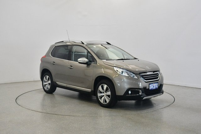 Used Peugeot 2008 A94 Allure, 2016 Peugeot 2008 A94 Allure Grey 4 Speed Sports Automatic Wagon