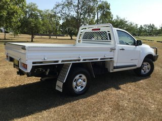 2015 Holden Colorado RG MY16 DX (4x4) White 6 Speed Manual Cab Chassis