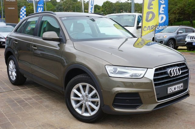 Used Audi Q3 8U MY17 TFSI S Tronic, 2016 Audi Q3 8U MY17 TFSI S Tronic Brown 6 Speed Sports Automatic Dual Clutch Wagon