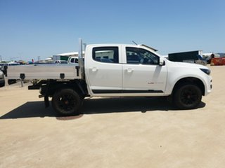 2018 Holden Colorado RG MY19 LS Crew Cab Summit White 6 Speed Sports Automatic Cab Chassis.