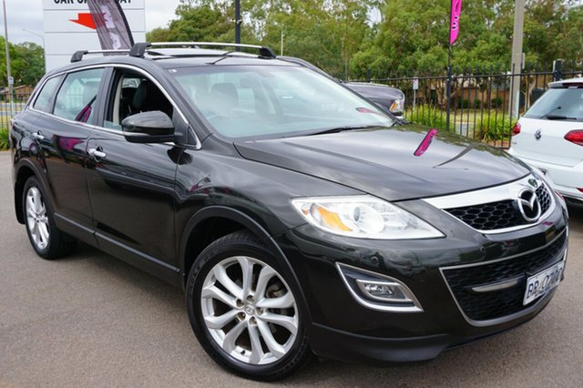 Used Mazda CX-9 TB10A4 MY12 Luxury, 2011 Mazda CX-9 TB10A4 MY12 Luxury Black 6 Speed Sports Automatic Wagon