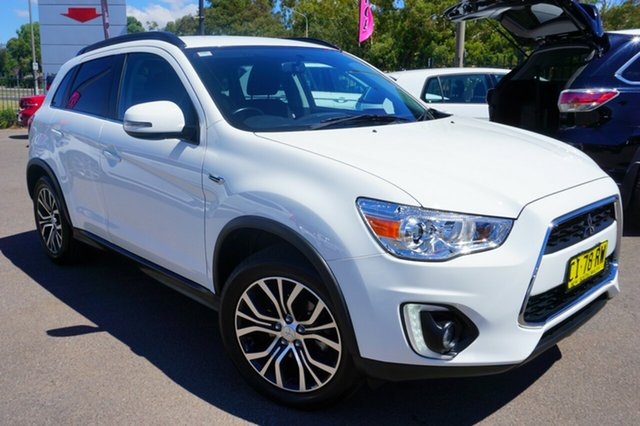 Used Mitsubishi ASX XB MY15.5 LS 2WD, 2016 Mitsubishi ASX XB MY15.5 LS 2WD White 6 Speed Constant Variable Wagon