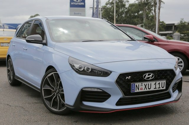 Demo Hyundai i30 PDe.2 MY18 N Performance, 2018 Hyundai i30 PDe.2 MY18 N Performance Performance Blue 6 Speed Manual Hatchback