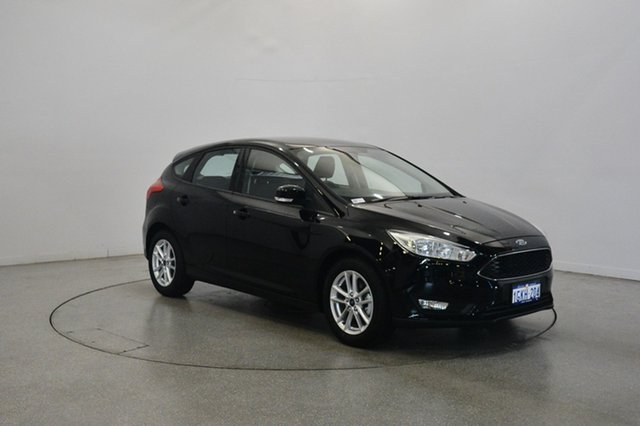 Used Ford Focus LZ Trend, 2017 Ford Focus LZ Trend Shadow Black 6 Speed Automatic Hatchback