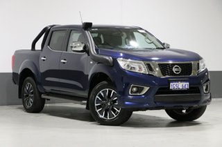 2017 Nissan Navara D23 Series II ST N-Sport (special Edition) Blue 7 Speed Automatic.