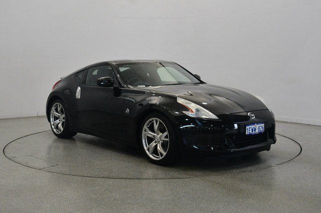 Used Nissan 370Z Z34 MY10 , 2011 Nissan 370Z Z34 MY10 Black 7 Speed Sports Automatic Coupe